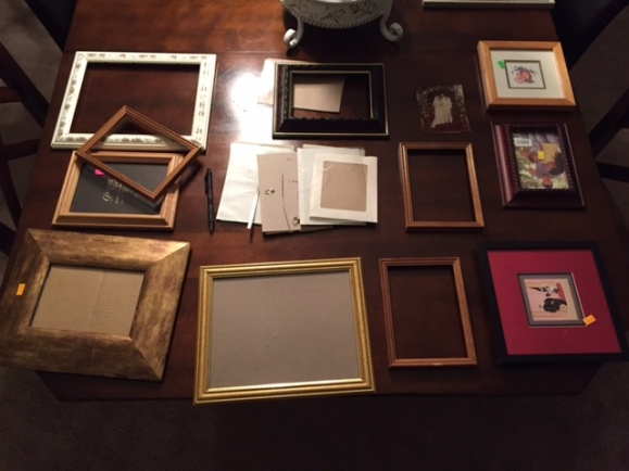 picture frames from goodwill