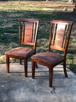 reupholster chairs